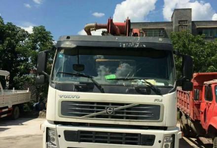 处理德国大象46米混凝土泵车
